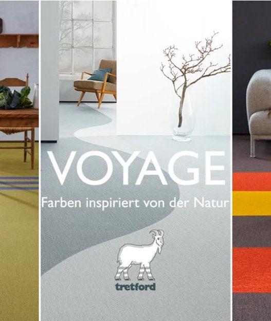 tretford VOYAGE – Farben inspiriert von der Natur